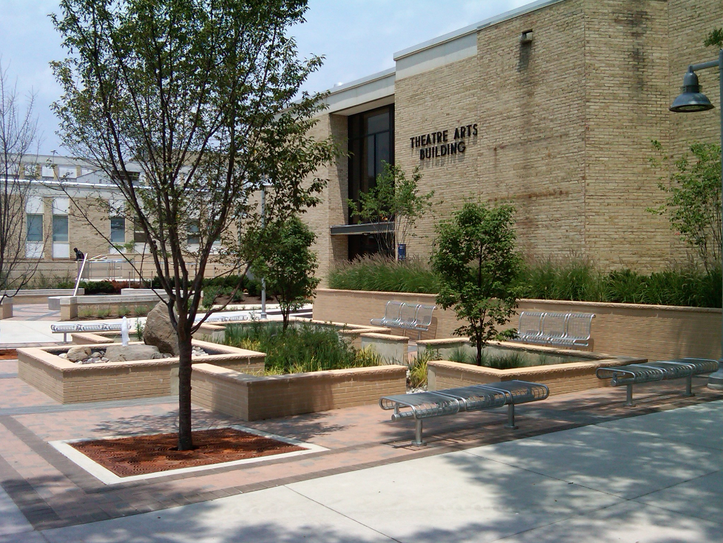 Montgomery College Rockville Campus Site Improvements 2009